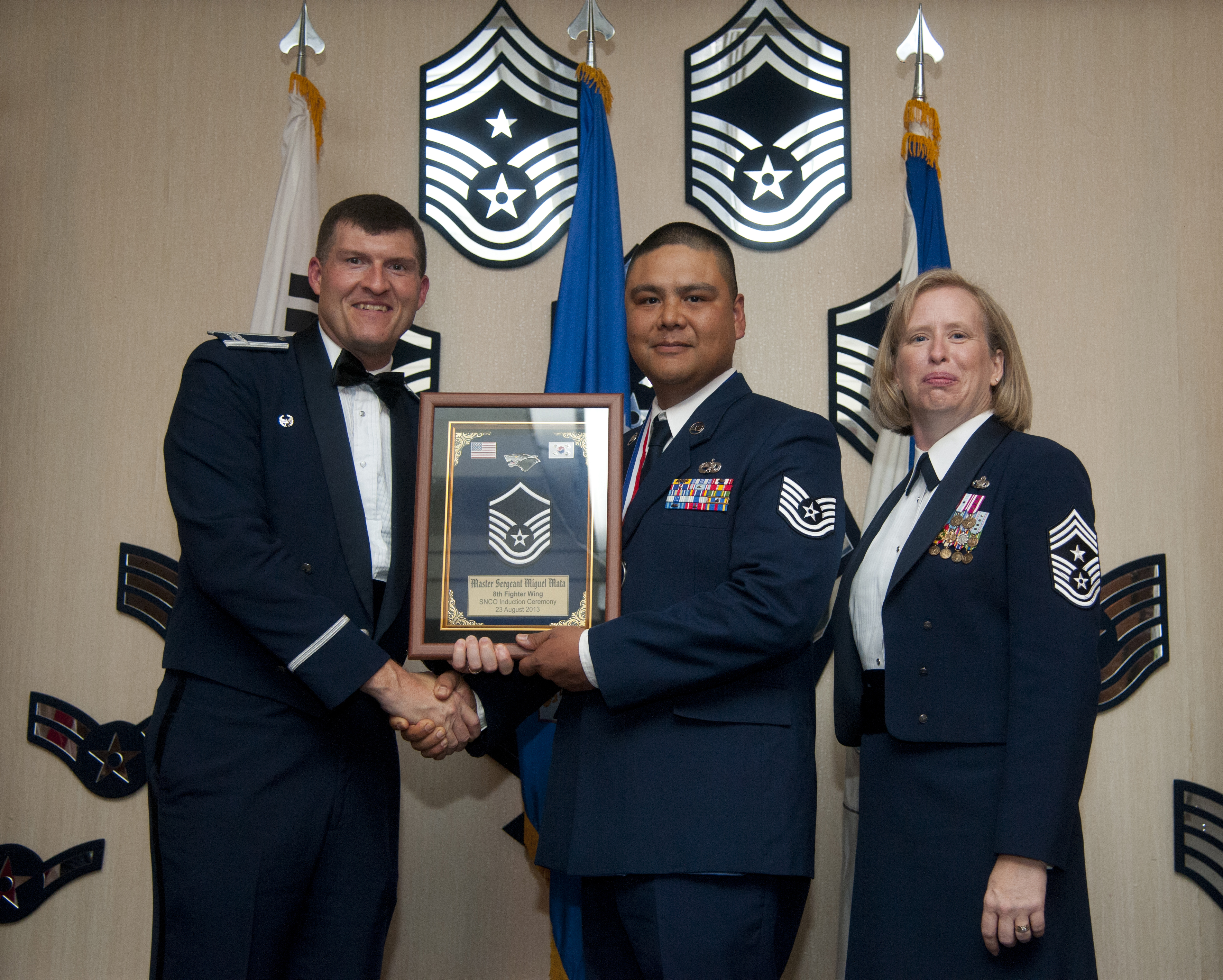 csaf cmsaf join wolf pack snco induction kunsan air. Black Bedroom Furniture Sets. Home Design Ideas