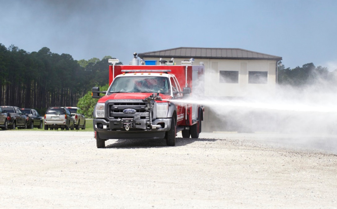 New Vehicle In Firefighting Arsenal