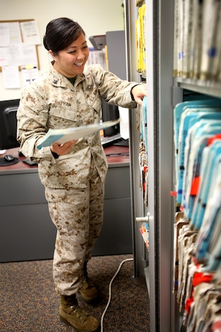 Petty Officer 2nd Class Mai Pham, a leading petty officer with 1st Dental Battalion, 1st Marine Logistics Group, and a 25-year-old native of Houston, was nominated by her command to represent their unit for Women's Equality Day.