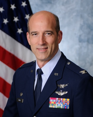 Col. Jeffrey Mineo, 310th Space Wing commander