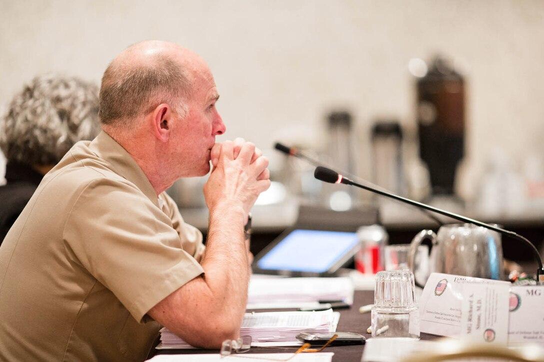 DoD Co-Chair, VADM Matthew L. Nathan, M.D. (U.S. Navy)