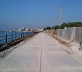 The City of Davenport's Riverfront Trail alongside the Iowa American Company's East River Station Treatment Plant will be opening soon.