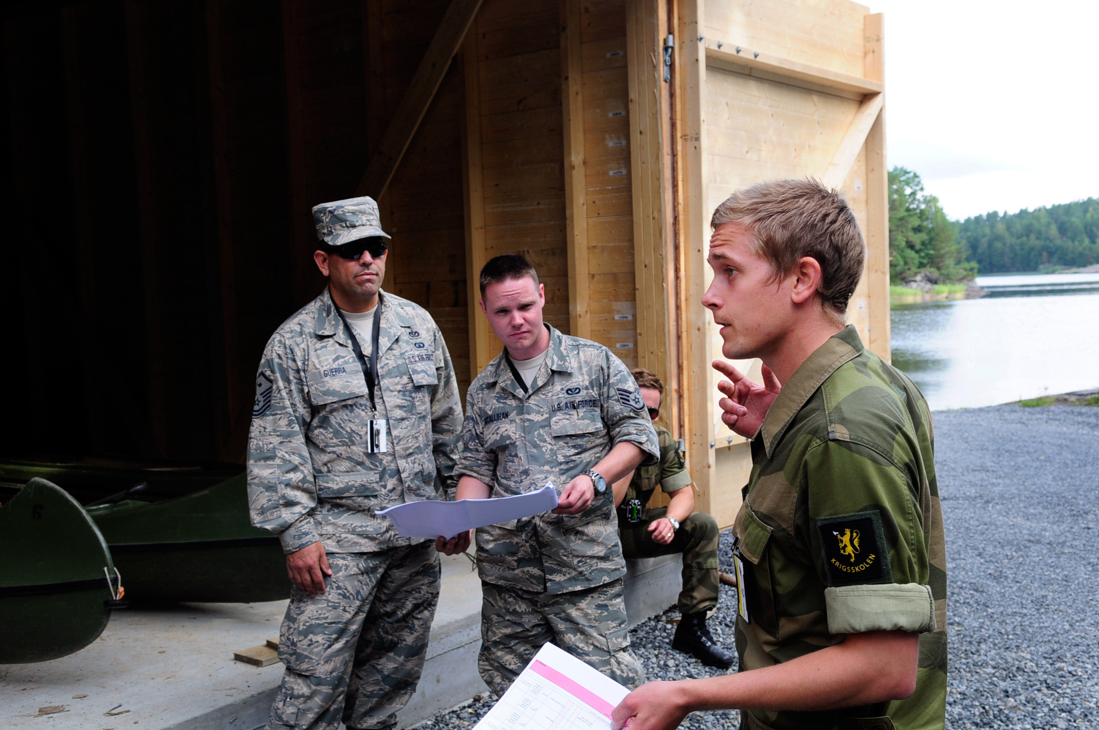 Texas Air Guard Engineers Train With Norwegian Military