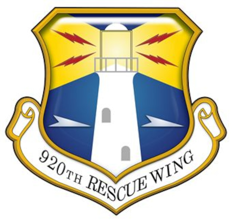 920th Rescue Wing Unit Shield