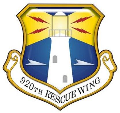 920th Rescue Wing Unit Shield
