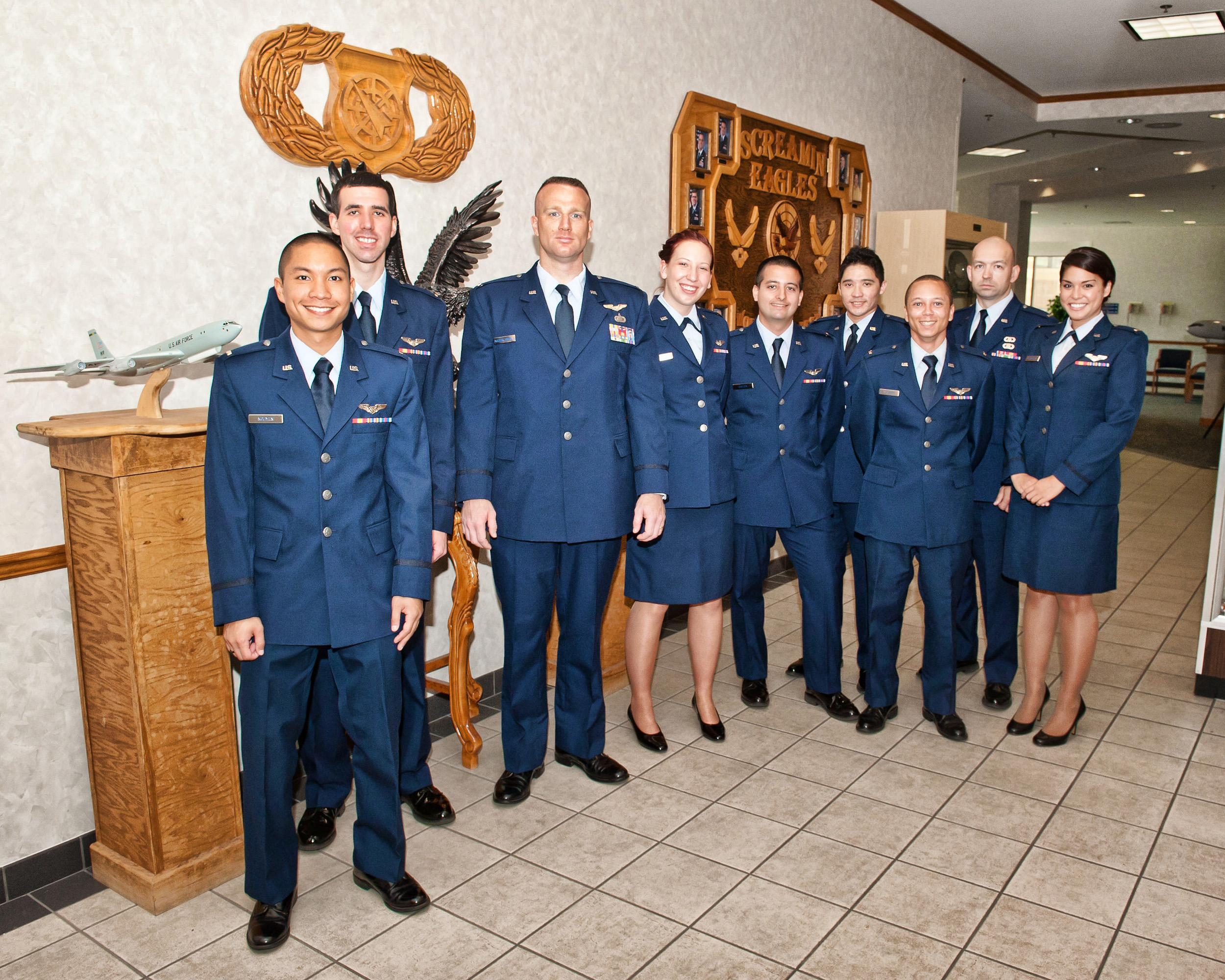 Abm Graduation Class 13016 Tyndall Air Force Base Article Display
