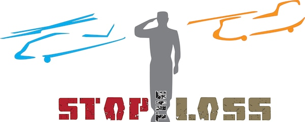 """Logo for the Army National Guard's """"Stop the Loss"""" campaign"""