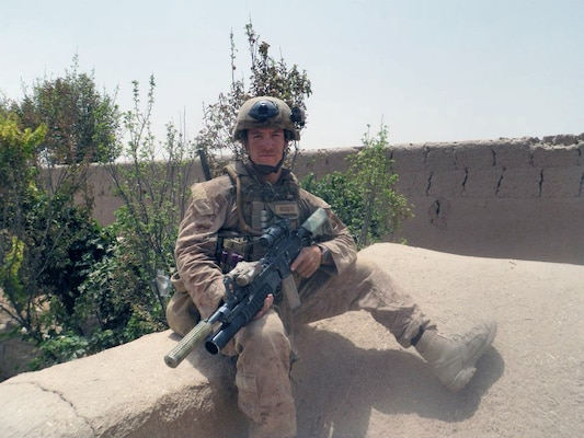 David Gerardi was serving as a Marine in Afghanistan when he earned a Silver Star.