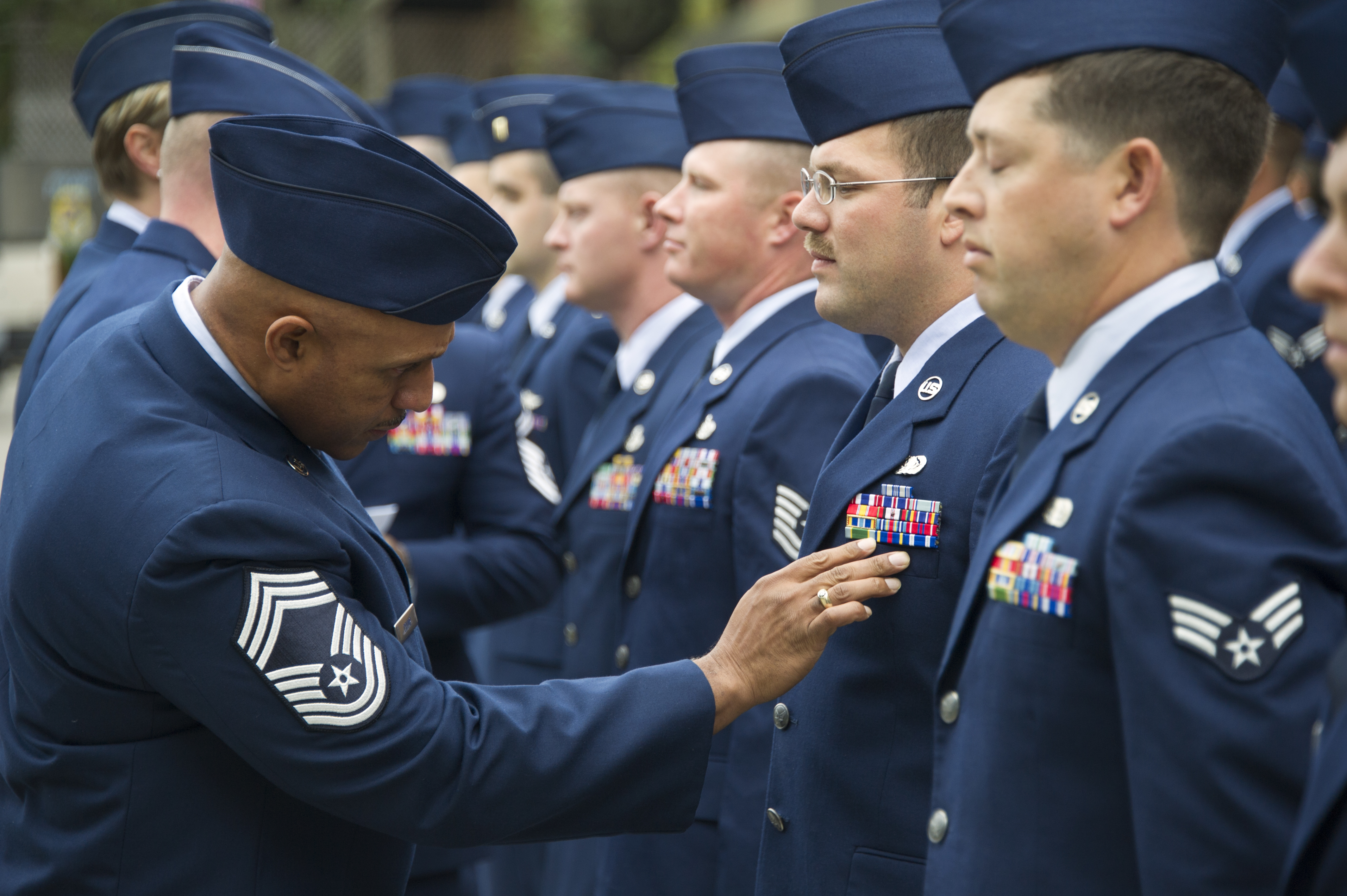 85th Eis Conducts Open Ranks Inspections Gt 24th Air Force