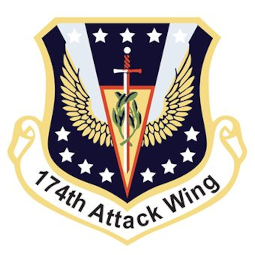 174th Attack Wing Patch
