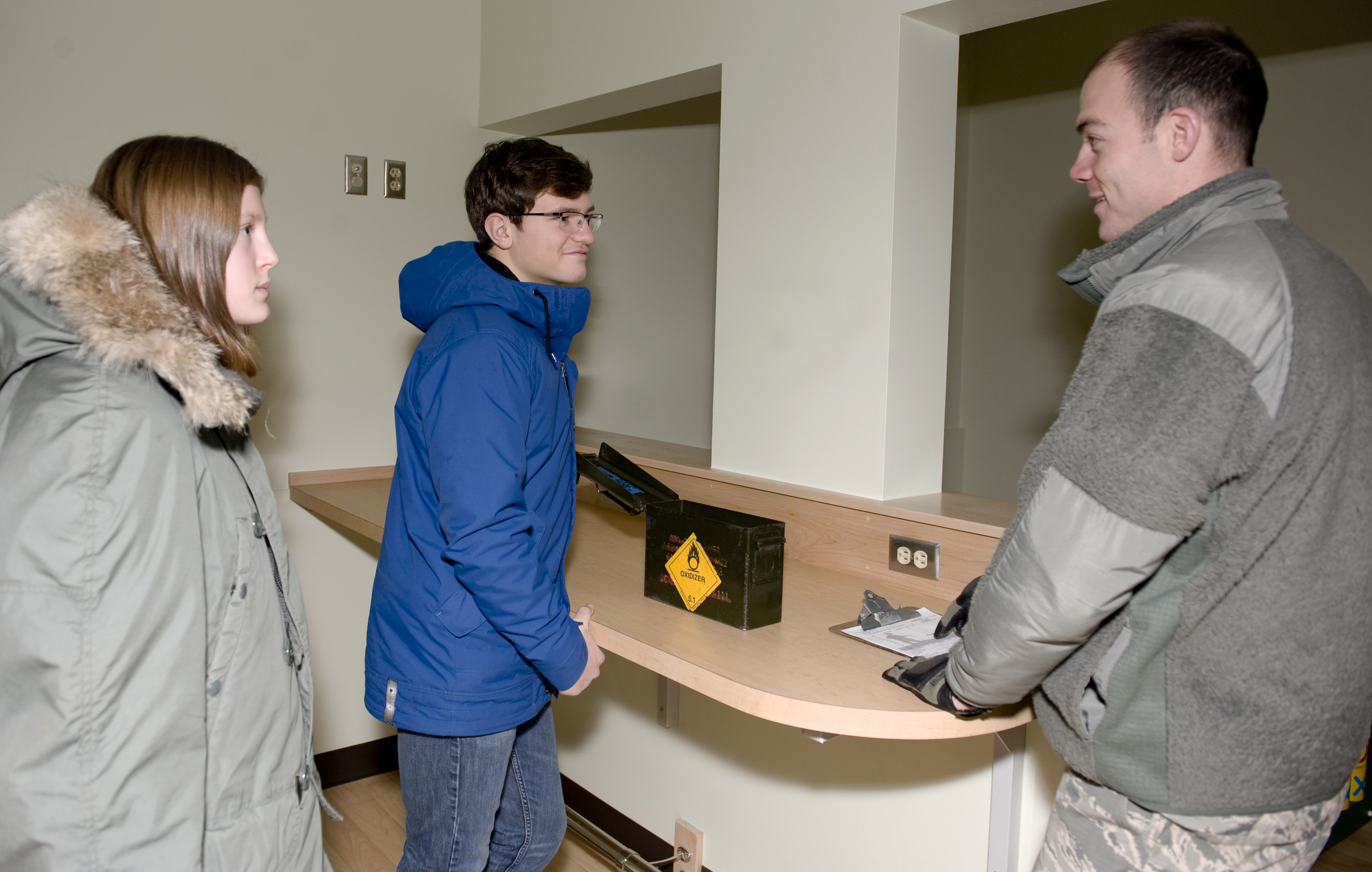 job shadow program gives students real life experience > eielson job shadow program gives students real life experience