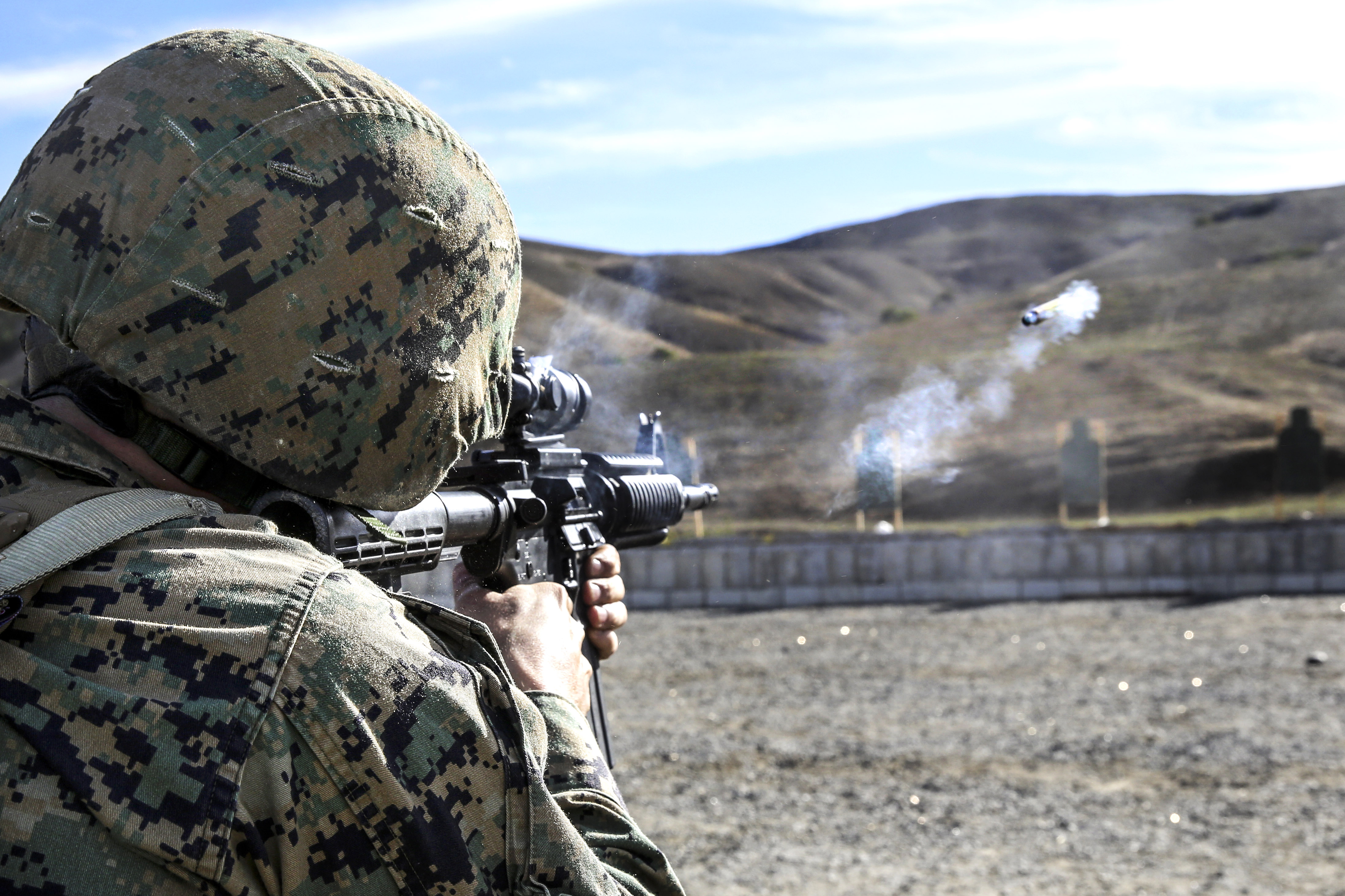 bruce dawes weapons training