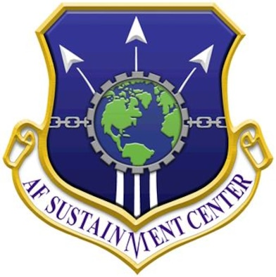 Air Force Sustainment Center Shield
