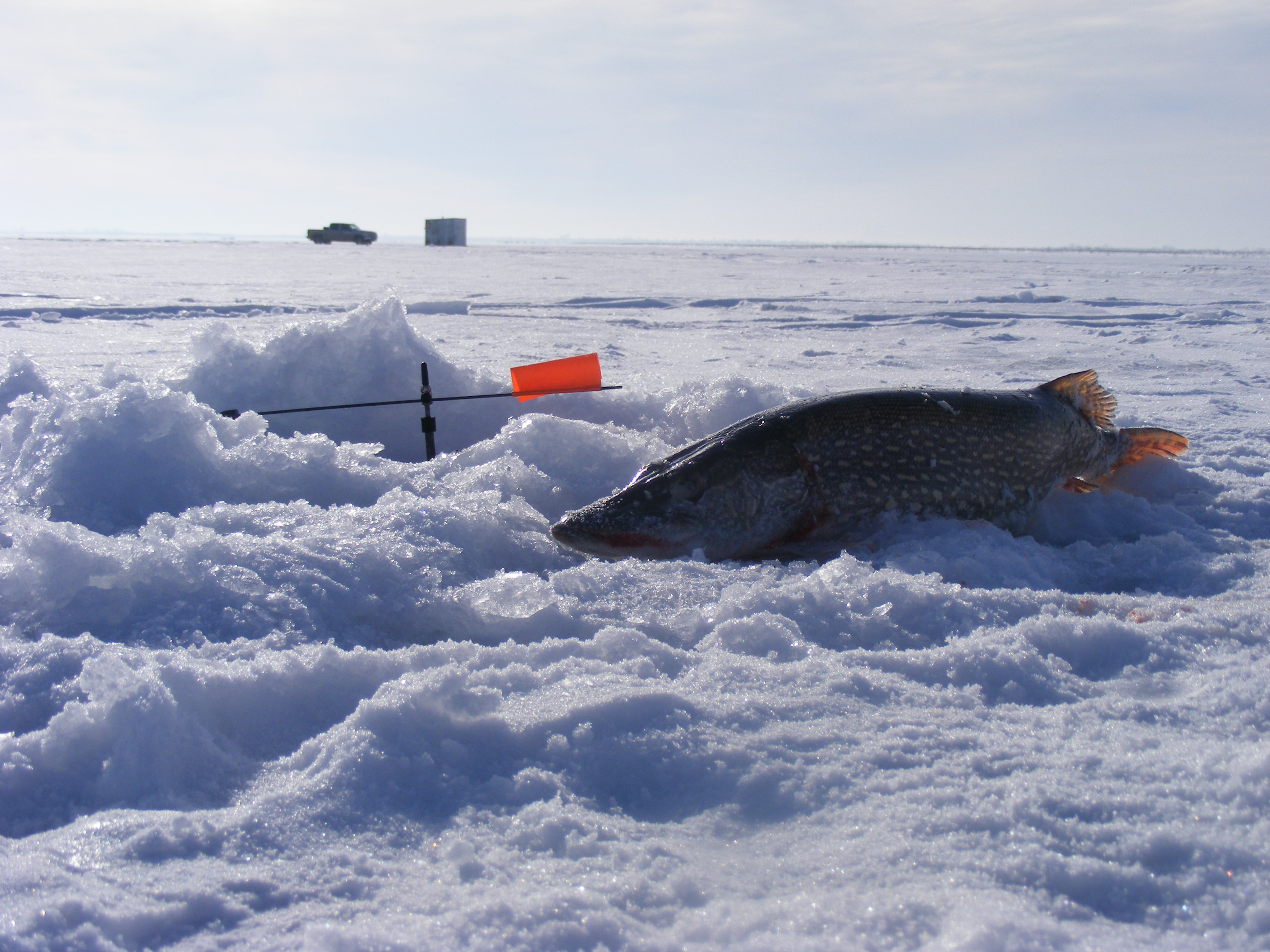 Ice fishing access policy omaha district fact sheet for North dakota ice fishing