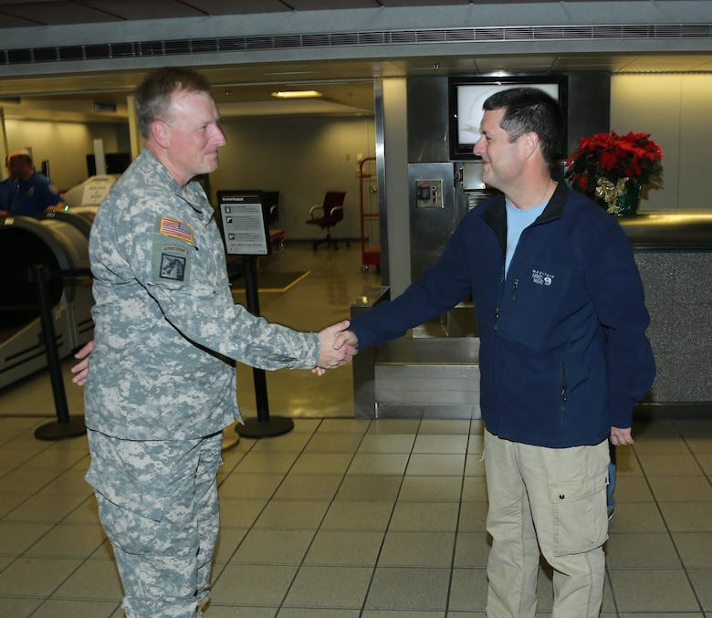 Vicksburg, Miss……The U. S. Army Corps of Engineers (Corps) Vicksburg District's Mike Renacker has recently returned from ten months of deployment to Bagram Air Field, Afghanistan.
