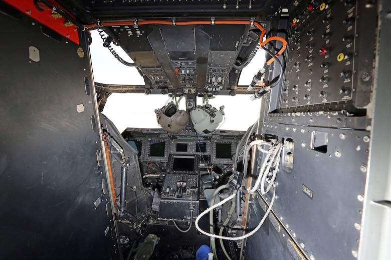 DAYTON, Ohio -- The Bell-Boeing CV-22B interior at the National Museum of the U.S. Air Force. (U.S. Air Force photo by Don Popp)