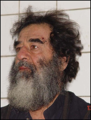 Saddam Hussein was captured Dec. 13, 2003.