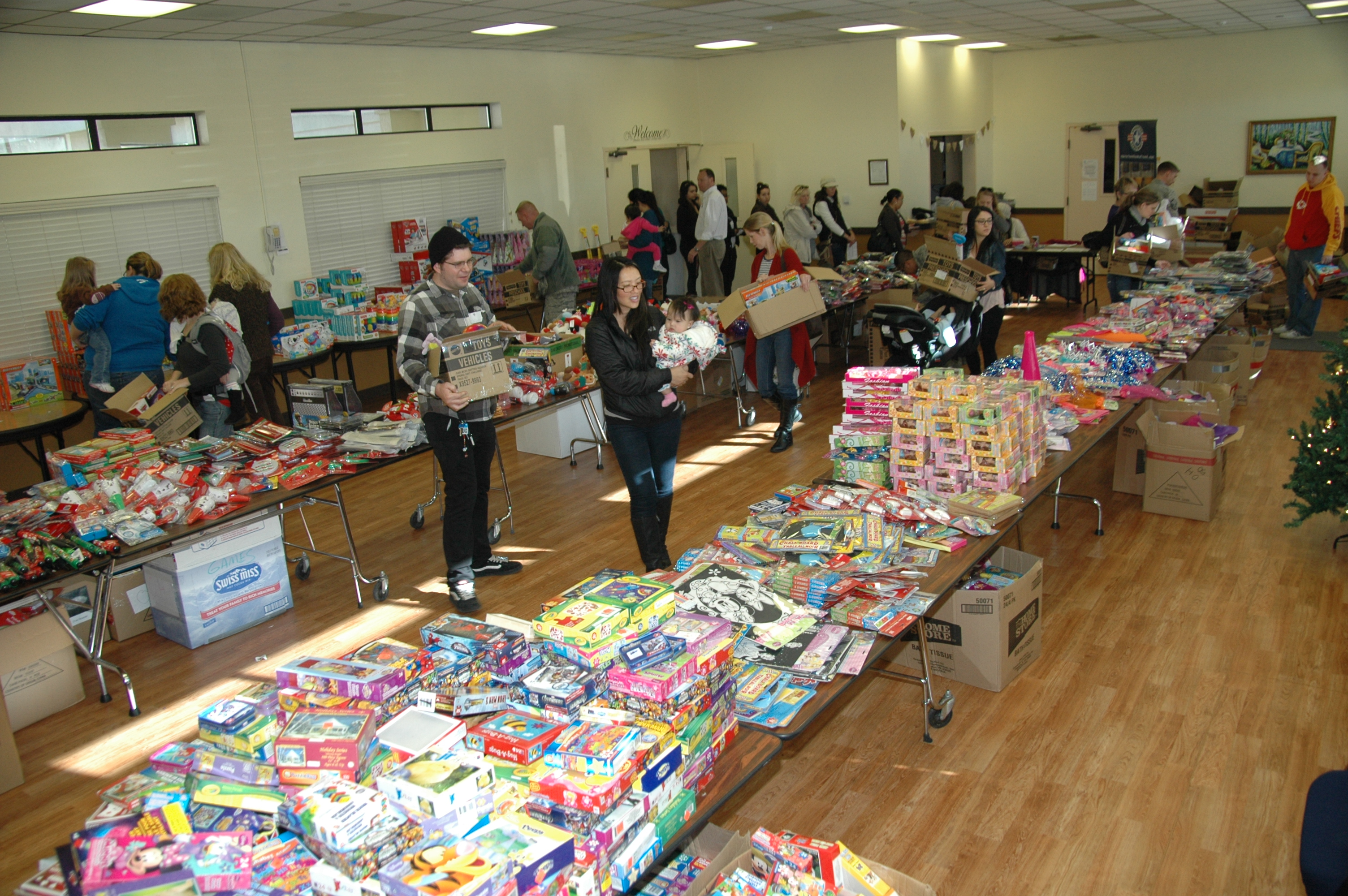 Toy Drive Gives Boost To Junior Enlisted