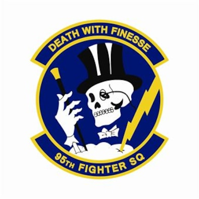 95th Fighter Wing Patch