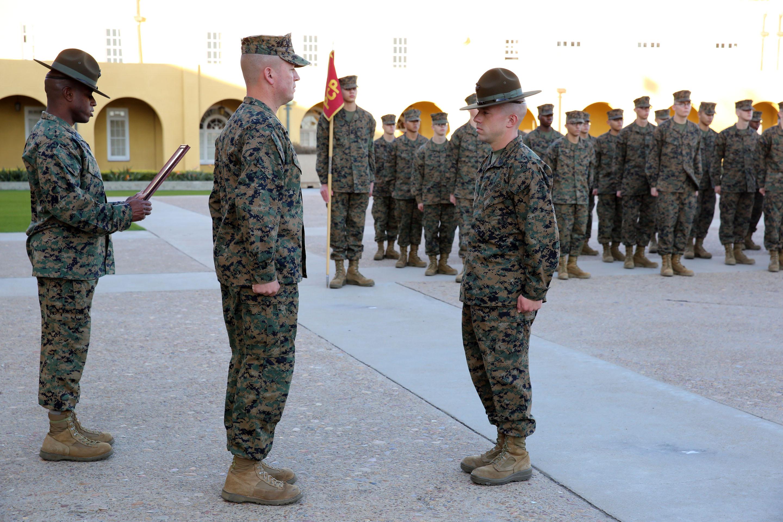 U.S. Marine Corps Press release: Marine named Drill ...