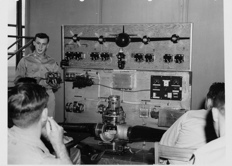 Sixty-three years ago this month, about six months after the outbreak of the Korean War, the first six B-29 combat crews trained at the former Randolph Air Force Base graduated. B-29 combat crew training began at Randolph during the Truman administration and concluded in 1956, the final year of then President Dwight D. Eisenhower's first term. In that time, more than 21,500 crew members had been trained. (Courstesy photo)