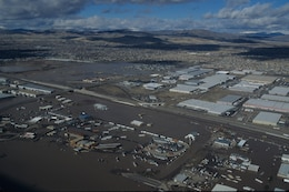 Flooding in the Reno, Nev., area in January 1997.