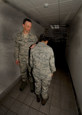 The Chaplain Corps at Hurlburt Field, as well as Air-Force wide, help all people on base in crisis situations.  They can help guide you away from the dark and back into the light.  (Photo illustration/Staff Sgt. John Bainter)