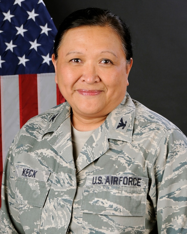 Col. Lorenda Keck, 169th Mission Support Group Commander at McEntire Joint National Guard Base, S.C., poses for her portrait Feb. 1, 2013.(National Guard photo by Tech. Sgt. Caycee Watson/Released)
