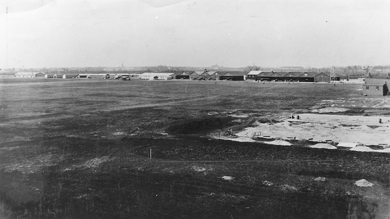 Signal Corps Flying School, Mineola, N.Y. (U.S. Air Force photo)