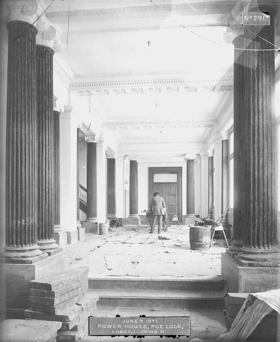 Finishing the Lobby, 1897