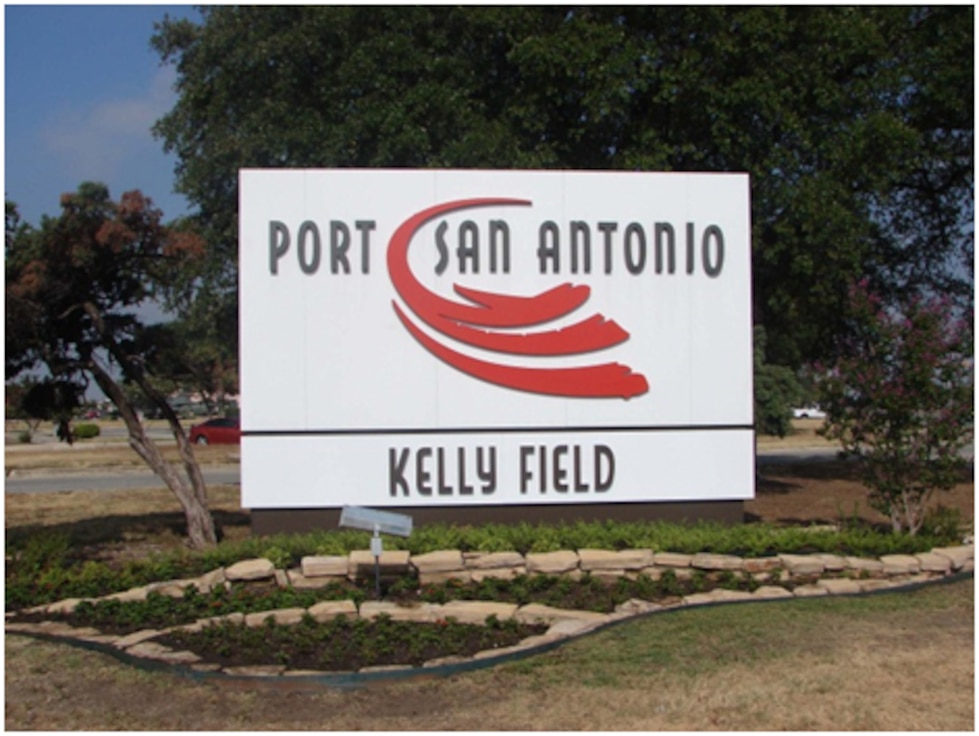 Former Kelly Air Force Base, Texas