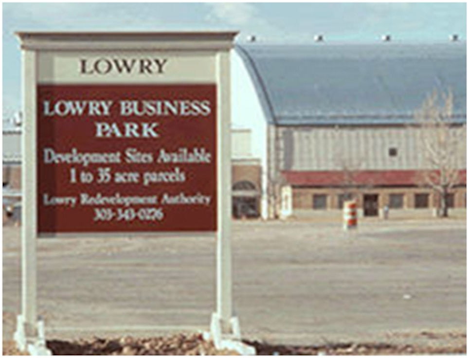 Former Lowry Air Force Base, Colo.