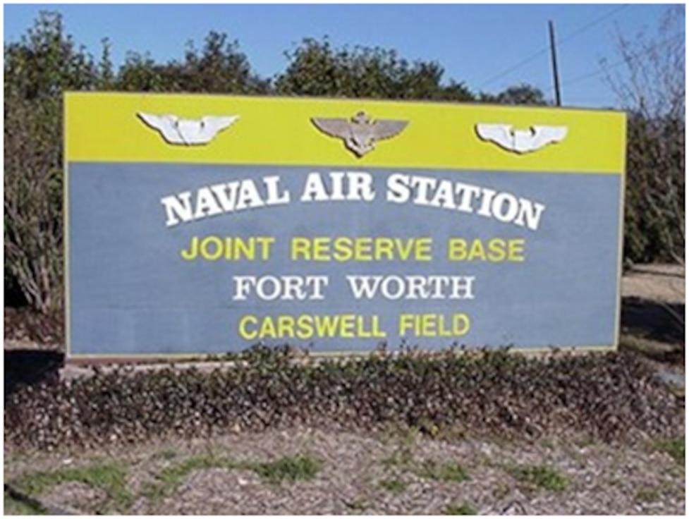 Former Carswell Air Force Base, Texas. (U.S. Air Force photo)