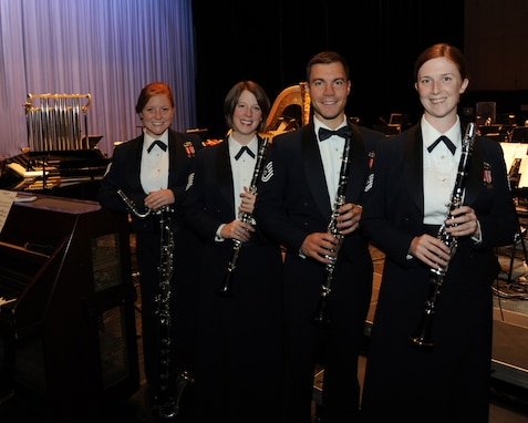 The U.S. Air Force Band's Clarinet Quartet will present a Chamber recital at