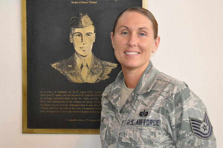 """""""My job in the Blue Flag exercise is to provide attorney support and to coordinate with members of the Air Force Forces staff on legal issues such as foreign claims, status of forces agreement issues, military justice/jurisdiction issued in our area of responsibility,"""" said Tech. Sgt. Stephanie Clark, 12th Air Force (Air Forces Southern) Judge Advocate office."""" (U.S. Air Force photo by Master Sgt. Kelly Ogden/Released)."""