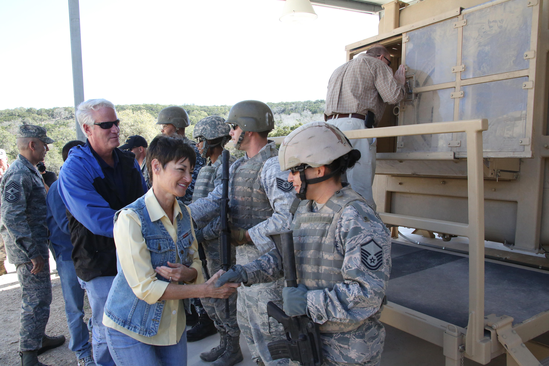 Texas Legislators Tour Jbsa Camp Bullis Gt Joint Base San