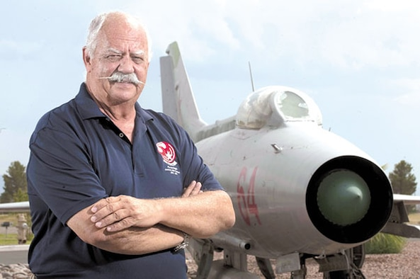 "DAYTON, Ohio -- Col. (Ret.) Gaillard R. Peck Jr. will present ""America's SECRET MiG Squadron"" at 7:30 p.m. on March 20, 2013. (Photo provided)"