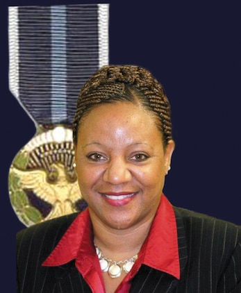 Pamela Jackson, community plans liaison officer, Marine Corps Logistics Base Albany, will receive the 2012 Presidential Citizens Medal, the nation's second-highest civilian honor, Friday. Jackson, a native of Albany, Ga., was selected for the award because of her work with childhood obesity. Jackson is the founder and CEO of The Youth Becoming Healthy Project, a nonprofit organization committed to reducing the epidemic of childhood obesity through nutrition, fitness education and physical-activity programs.