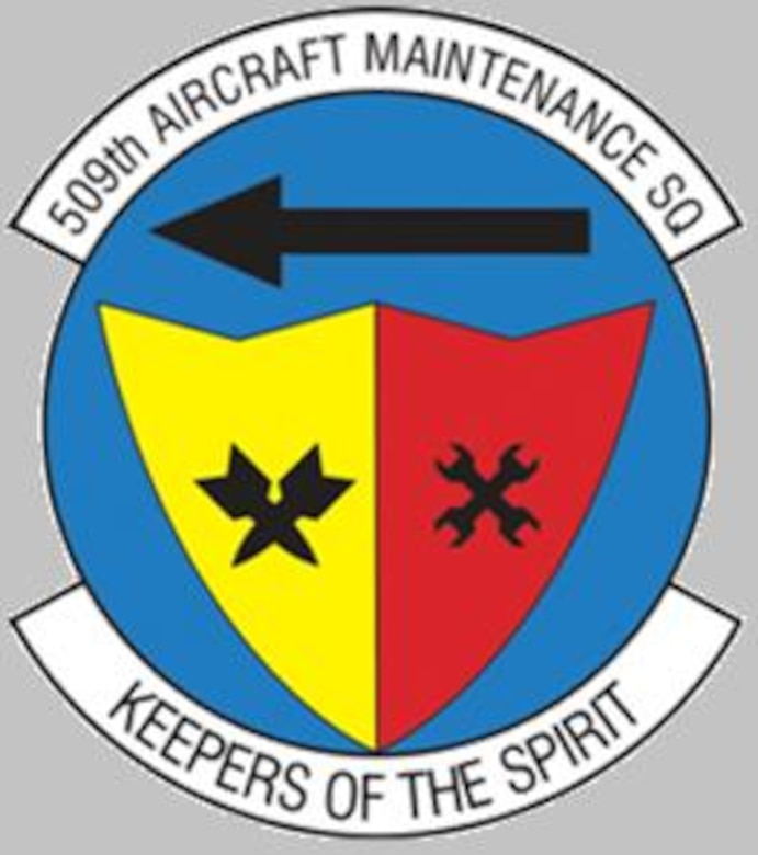 509th Aircraft Maintenance Squadron (U.S. Air Force graphic)