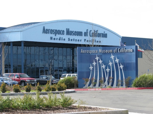 The Air Force this month transferred the deed for this 6.5-acre property to the Aerospace Museum of California, enabling the Museum to plan for its future in the region. [Photo by: AFCEC / PA]