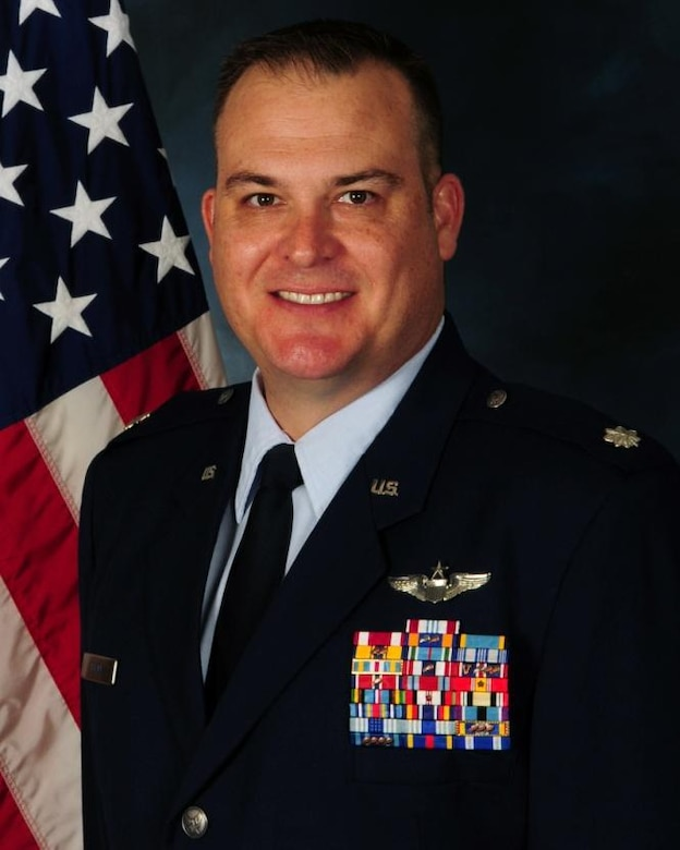 Lt. Col. Michael Black is the 36th Mobility Response Group commander.