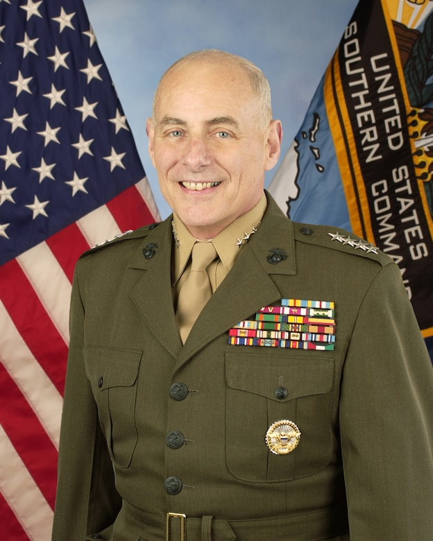 General John F Kelly U S DEPARTMENT OF DEFENSE Biography