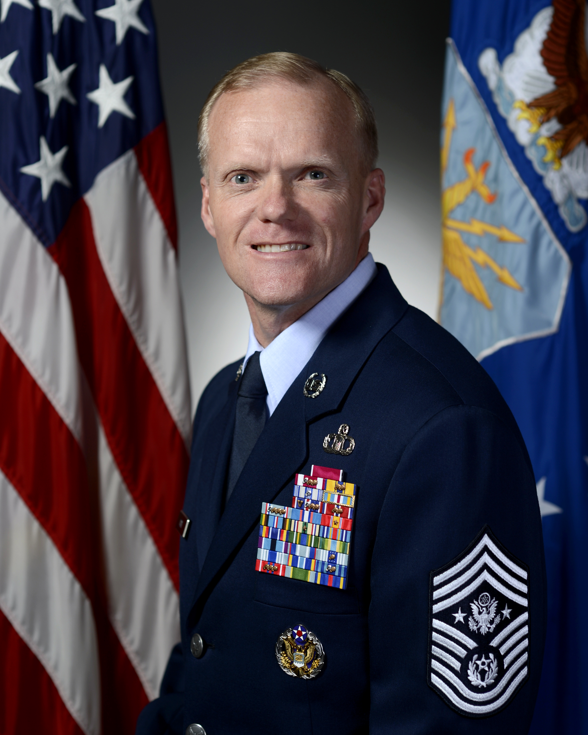 What Is The Air Force >> Chief Master Sergeant Of The Air Force James A Cody U S Air