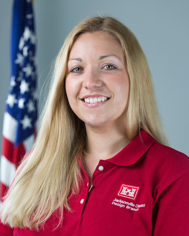 Viktoria Bogina, E.I.T., a civil engineer with the U.S. Army Corps of Engineers (USACE), Jacksonville District, was one of the USACE nominees for this year's New Faces of Engineering program.