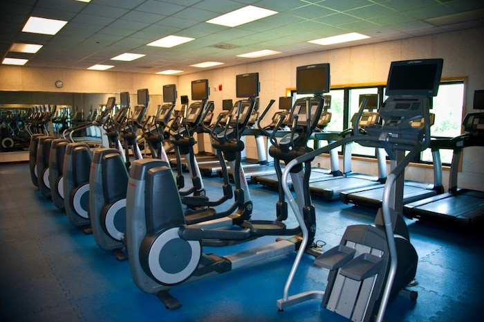 Gym interior – cardio room