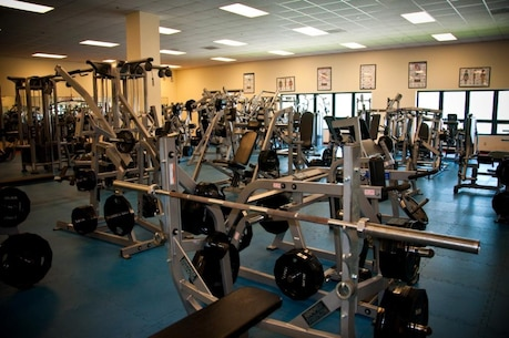 Gym interior – weight room