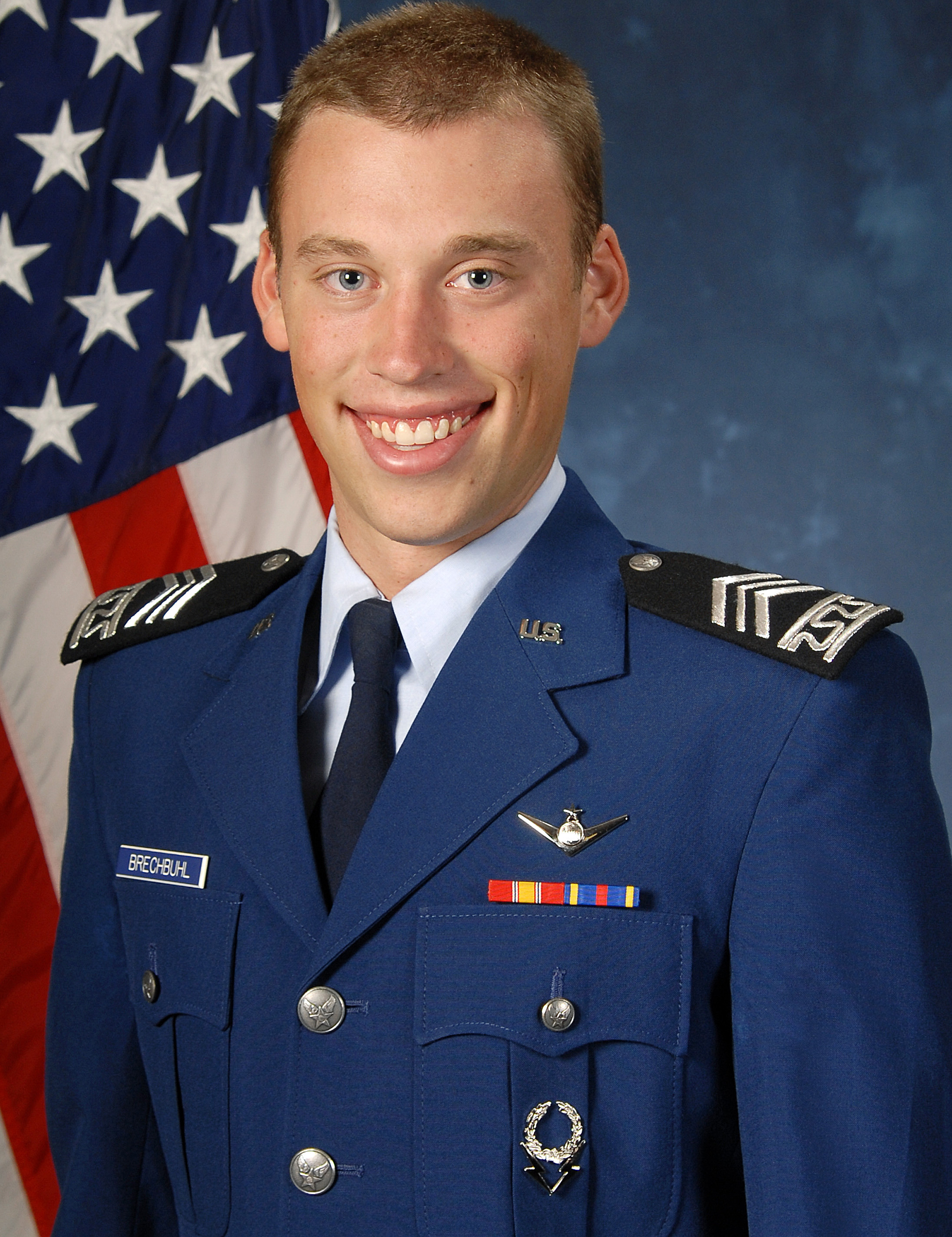 All Air force cadet uniform such person