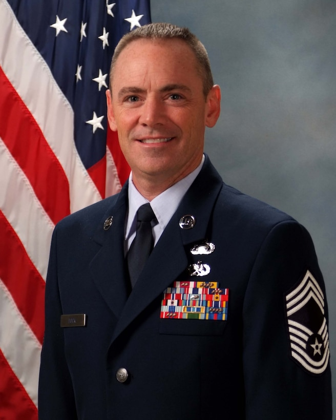 Chief Master Sgt. David Dock, Headquarters, Air Force Space Command, Directorate of Manpower, Personnel and Services