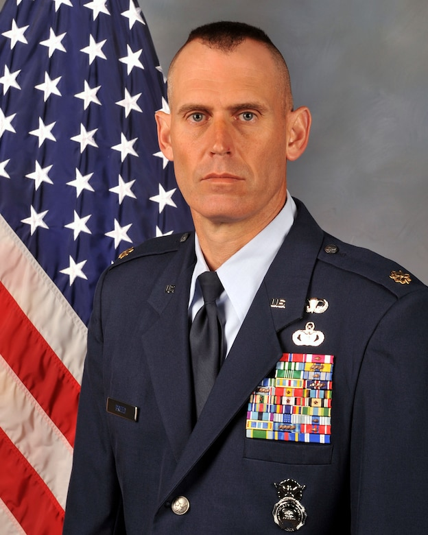 Maj. Mark Breed (Official photo)