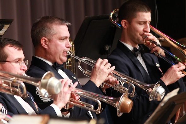 "The U.S. Air Force Band of Flight will present their spring concert ""Old, New and Forever Blue"" featuring Wright Brass and Systems Go, on Saturday, April 6 at 7:30 p.m. at the National Museum of the U.S. Air Force. Tickets are required and will be available beginning Wednesday, March 6 at 9 a.m.  (Courtesy Photo)"